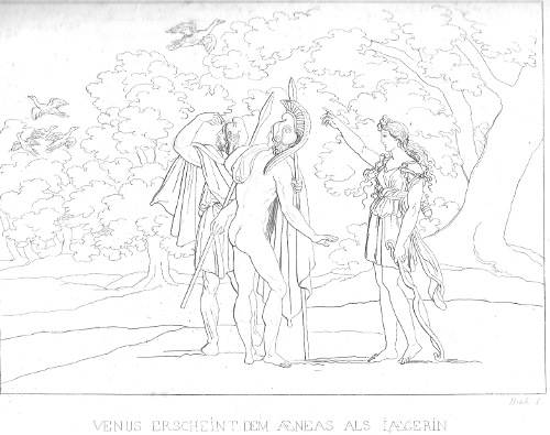 Venus als Jägerin