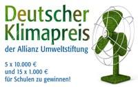 Neue Runde des Schulwettbewerbs um den Deutschen Klimapreis der Allianz Umweltstiftung ist gestartet