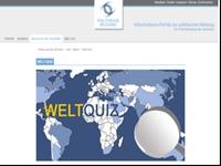 Welt-Quiz gestartet auf politische-bildung.de
