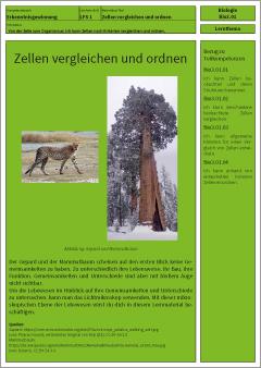 Exemplarisches Lernmaterial – Biologie – B3.01.LT