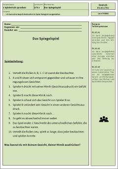 Exemplarisches Lernmaterial – Deutsch – D1.03.LT01