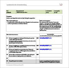 Deutsch – Lernwegeliste D1.03 – Kompetenzbereich 1: Spielerisch sprechen – Kompetenz: Ich kann eine Gesprächssituation im Spiel dialogisch ausgestalten.