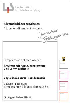 Handreichungen – Englisch – Kompetenzraster - Lernwegelisten - Lernmaterialien