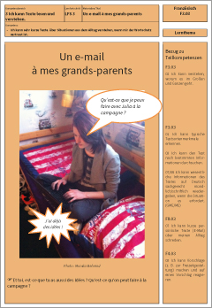 Exemplarisches Lernmaterial – Franzoesisch – F3.03.LT
