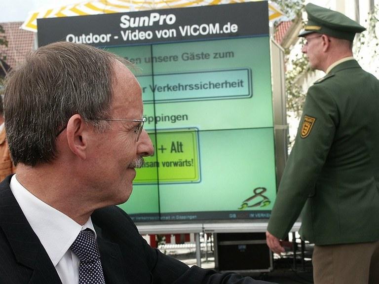 Landespolizeipräsident Erwin Hetger